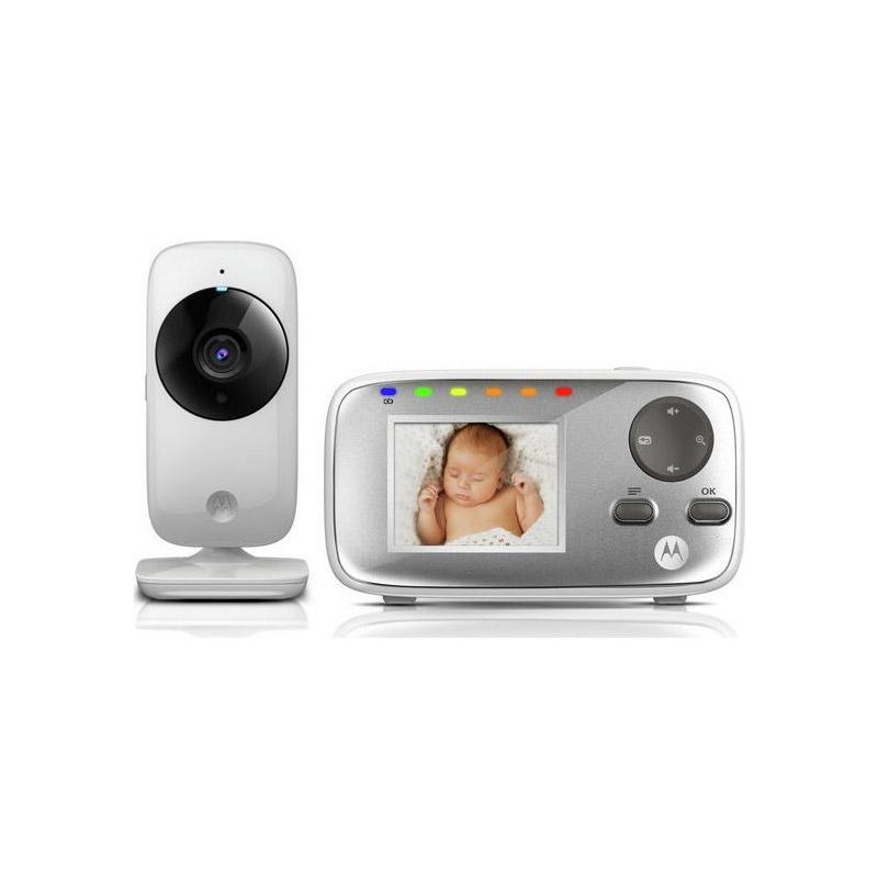 """Συσκευή Παρακολούθησης Μωρού με Έγχρωμη Οθόνη 2.4"""" Motorola MBP482"""
