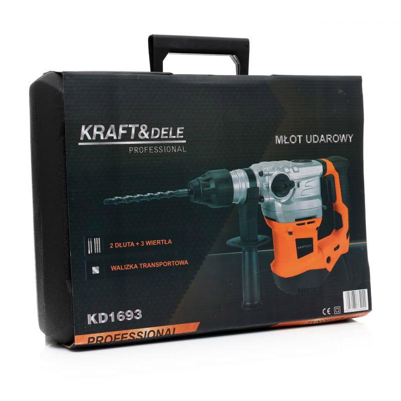 Ηλεκτρικό Κρουστικό Δράπανο και Σκαπτικό 2400 W Kraft&Dele KD-1693
