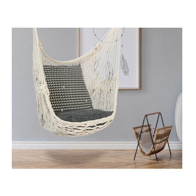 Μονή Αιώρα - Κάθισμα Πλεκτή με Γάντζο Macrame SPM 40040399