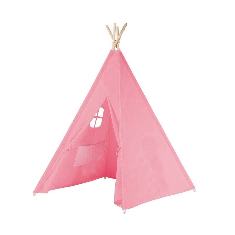Παιδική Ινδιάνικη Σκηνή 150 x 155 x 130 cm Χρώματος Ροζ Hoppline HOP1000941-2