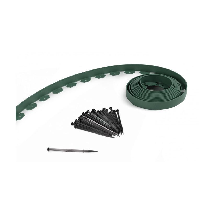 Πλαστικό Διαχωριστικό Κήπου 10 m Χρώματος Πράσινο SPM 40050167