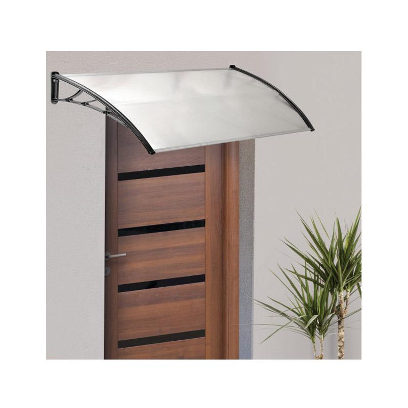 Πλαστικό Κιόσκι - Τέντα Πόρτας Εισόδου 80 x 100 cm Χρώματος Διάφανο Inkazen 40070223