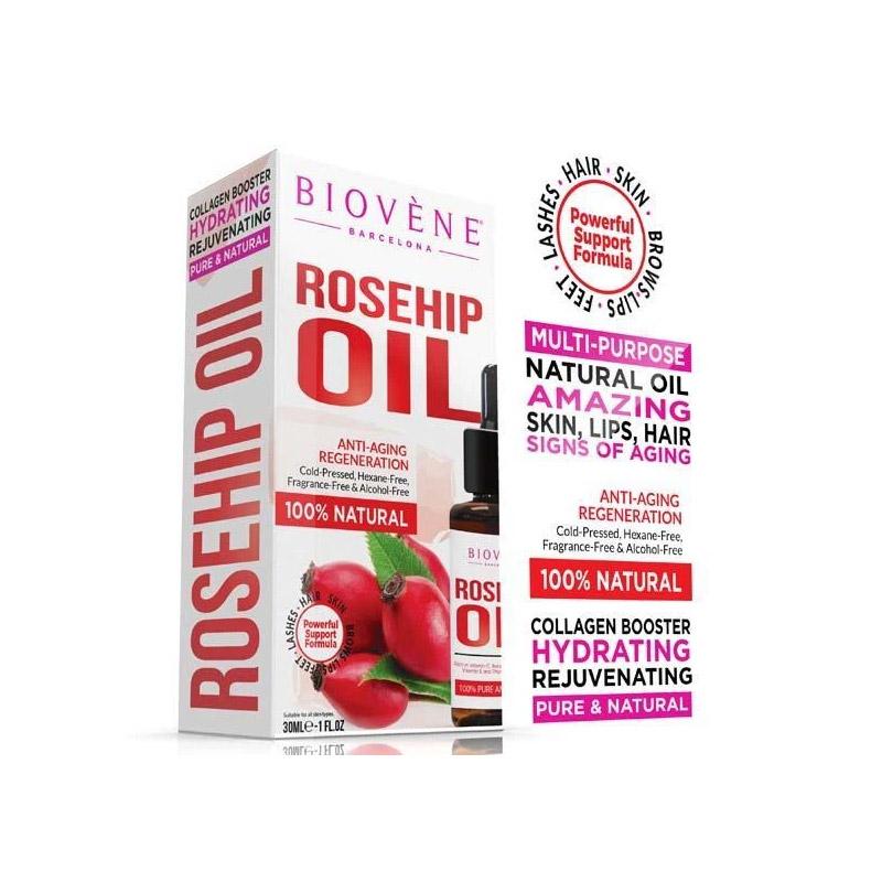 Rosehip Oil 30 ml Biovene BV-ROIL