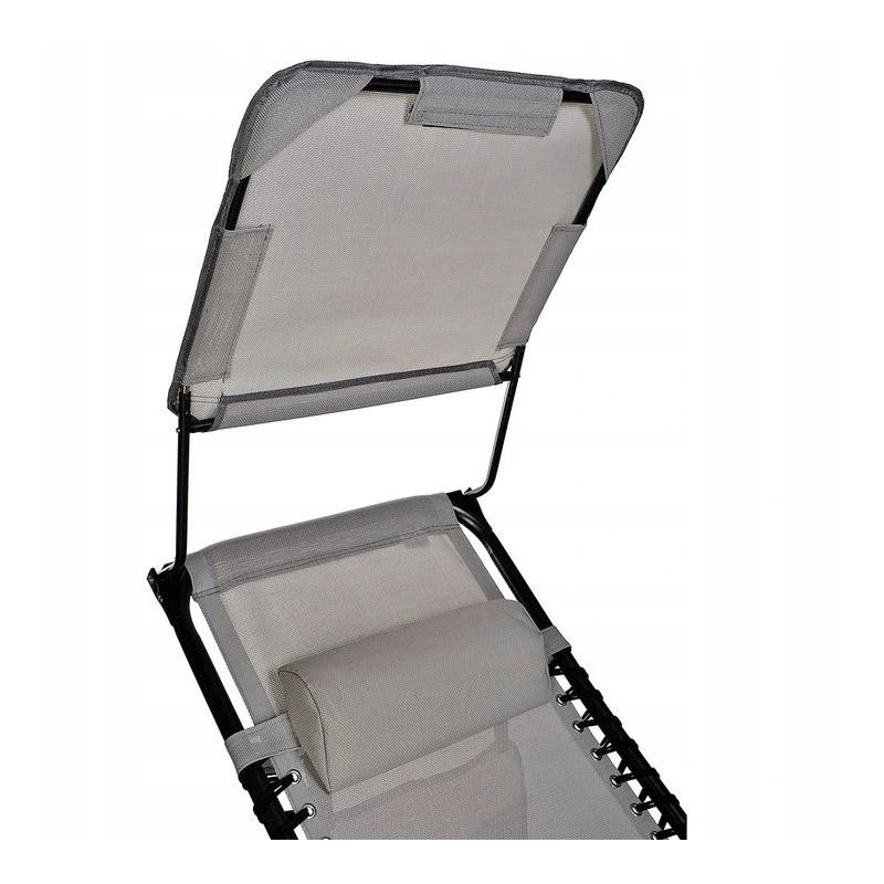 Πτυσσόμενη Καρέκλα Κήπου - Ξαπλώστρα 80 x 63 x 110 cm Malatec 10060