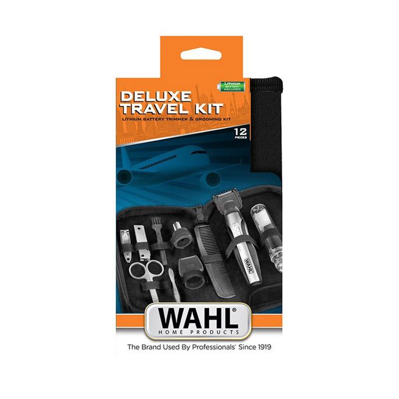 Σετ Τρίμμερ Μπαταρίας Λιθίου 3 σε 1 και Αξεσουάρ Ταξιδιού Deluxe Travel Kit Wahl 30331