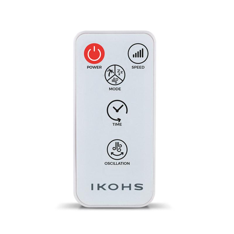 Ανεμιστήρας με Τηλεχειριστήριο 60 W Χρώματος Λευκό COMFORT V IKOHS 8435572600518