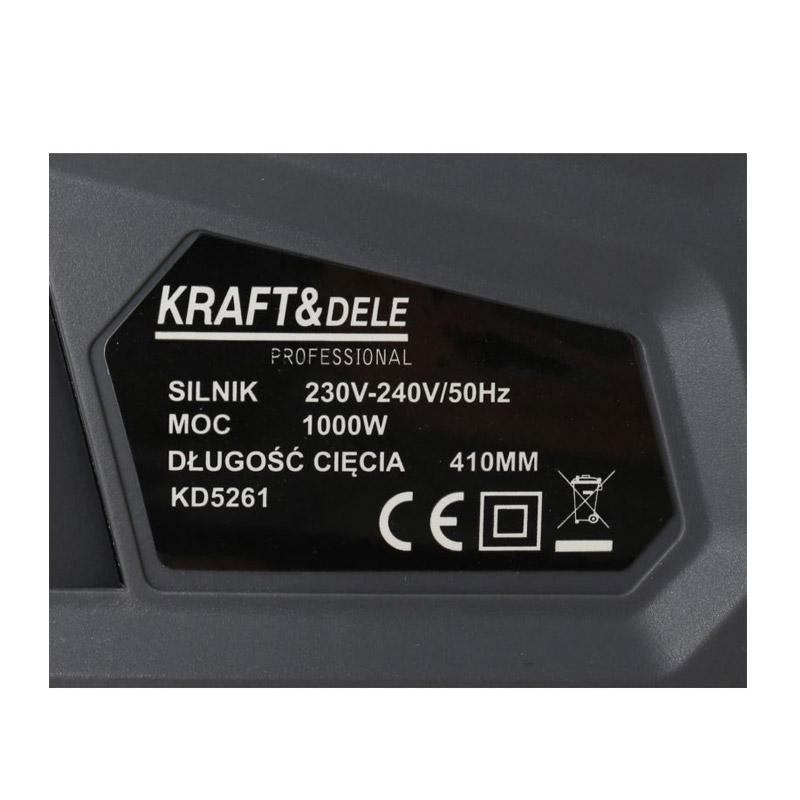 Ηλεκτρικό Πριόνι 1000 W με Βραχίονα 180 cm Kraft&Dele KD-5261