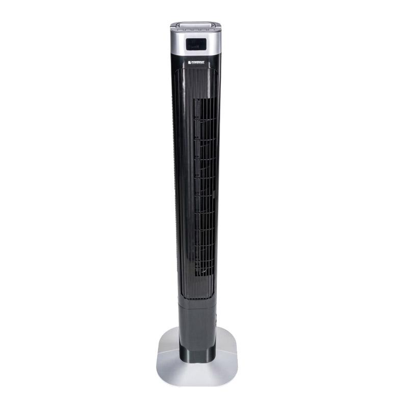 Ανεμιστήρας Πύργος με Τηλεχειριστήριο Χρώματος Μαύρο 90 W POWERMAT PM-BT120