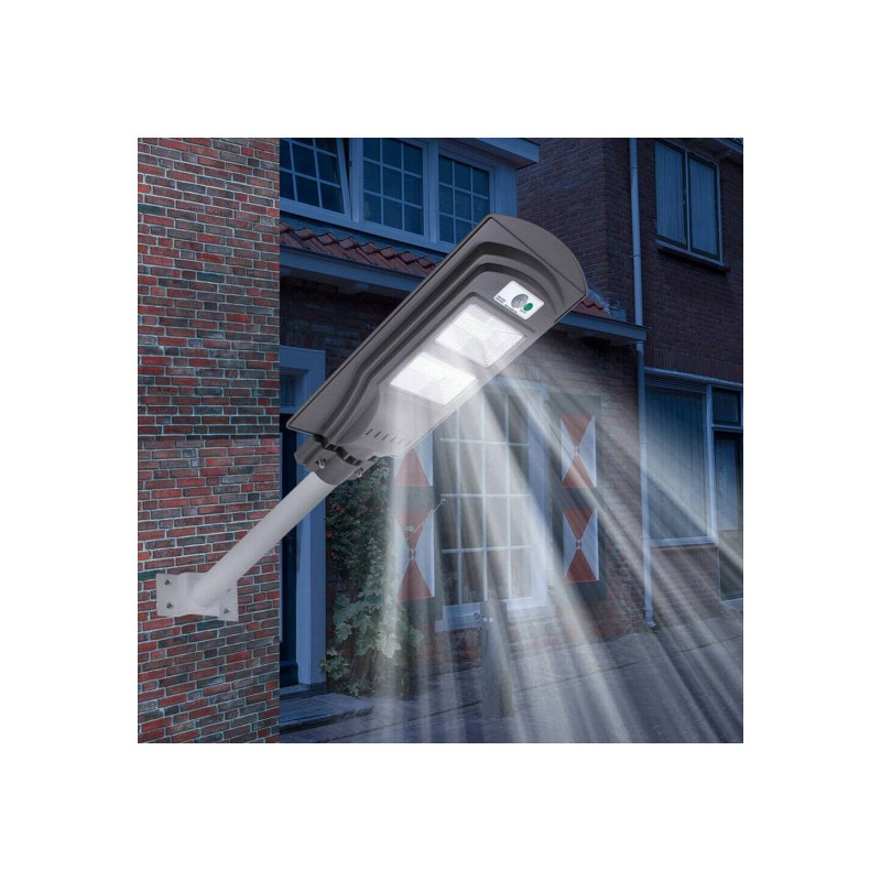 Ηλιακός Προβολέας LED με Ανιχνευτή Κίνησης 40 W SPM F71