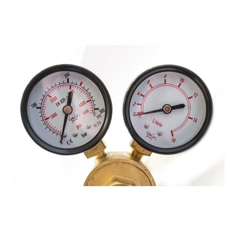 Ρυθμιστής Πίεσης Διοξειδίου (CO2) και Argon POWERMAT PM-RCO2