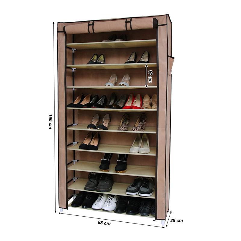 Stand Αποθήκευσης 40 Ζευγαριών Παπουτσιών Songmics RXJ36K