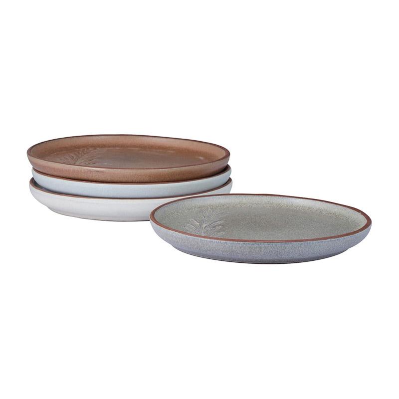 Σετ Κεραμικά Στρόγγυλα Ρηχά Antipasti Πιάτα 15 cm 4 τμχ Jamie Oliver 556908