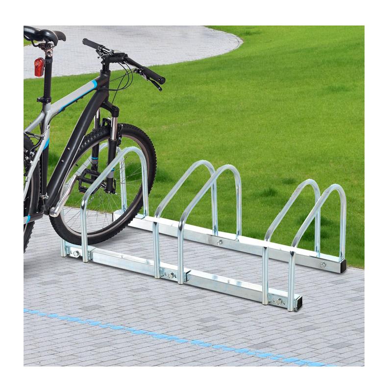 Μεταλλική Μπάρα Στάθμευσης 3 Ποδηλάτων HOMCOM AA0-023