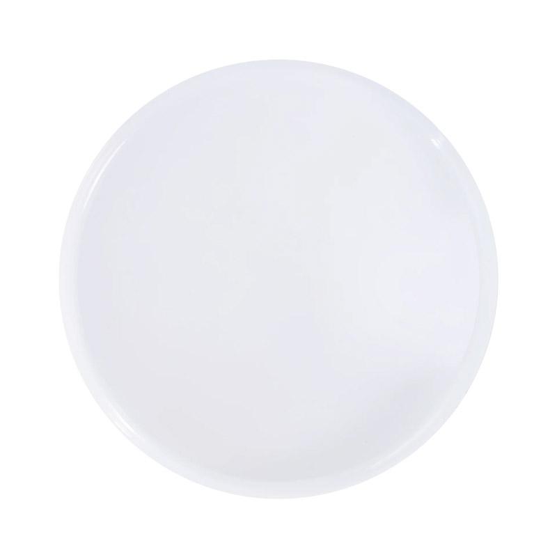 Μεταλλικό Στρογγυλό Τραπέζι 39 x 44 cm Χρώματος Λευκό HOMCOM 833-686WT