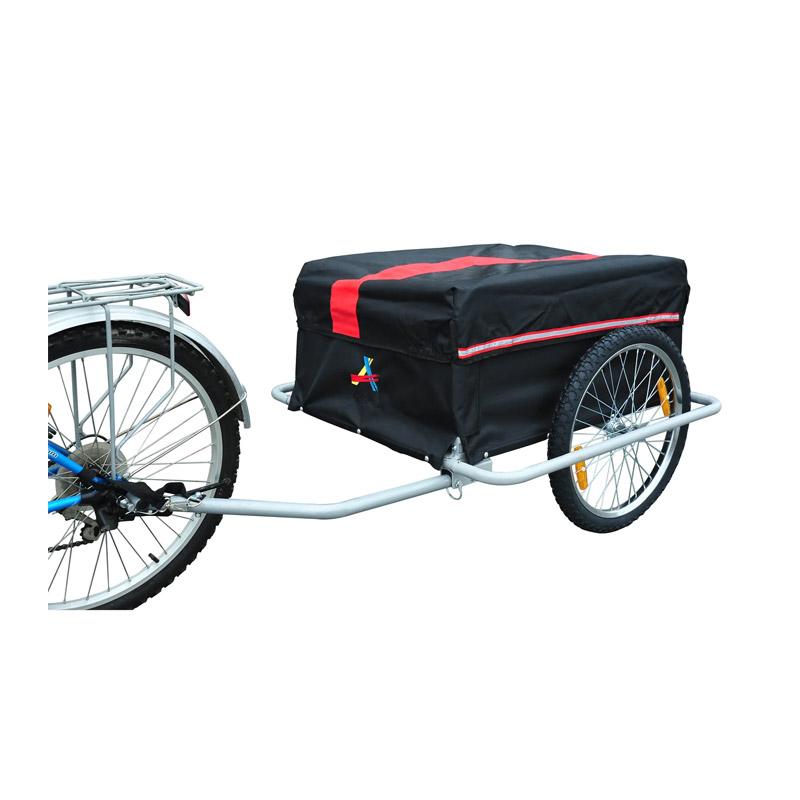 Αναδιπλούμενο Τρέιλερ Ποδηλάτου για Φορτία από Ατσάλι 140 x 88 x 60 cm HOMCOM 5664-0005R