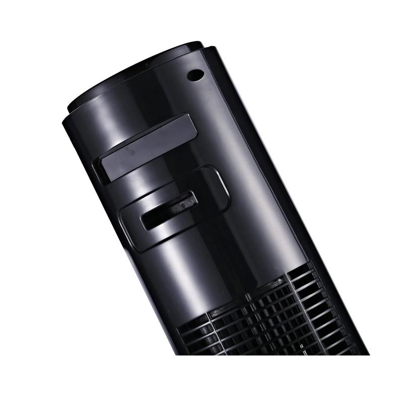Ανεμιστήρας Πύργος με Τηλεχειριστήριο Χρώματος Μαύρο 25 W HOMCOM 824-005BK