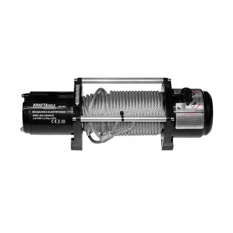 Ηλεκτρικό Παλάγκο Συρματόσχοινου 3.6 T 12 V Kraft&Dele KD-1563