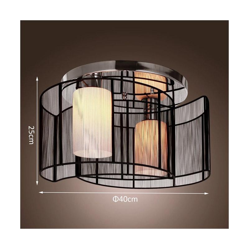 Μεταλλικό Φωτιστικό Οροφής 40 x 25 cm HOMCOM B31-003