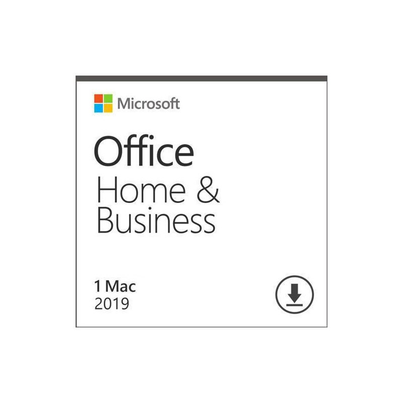 Microsoft Office Home and Business 2019 For Mac MSOHB19MAC