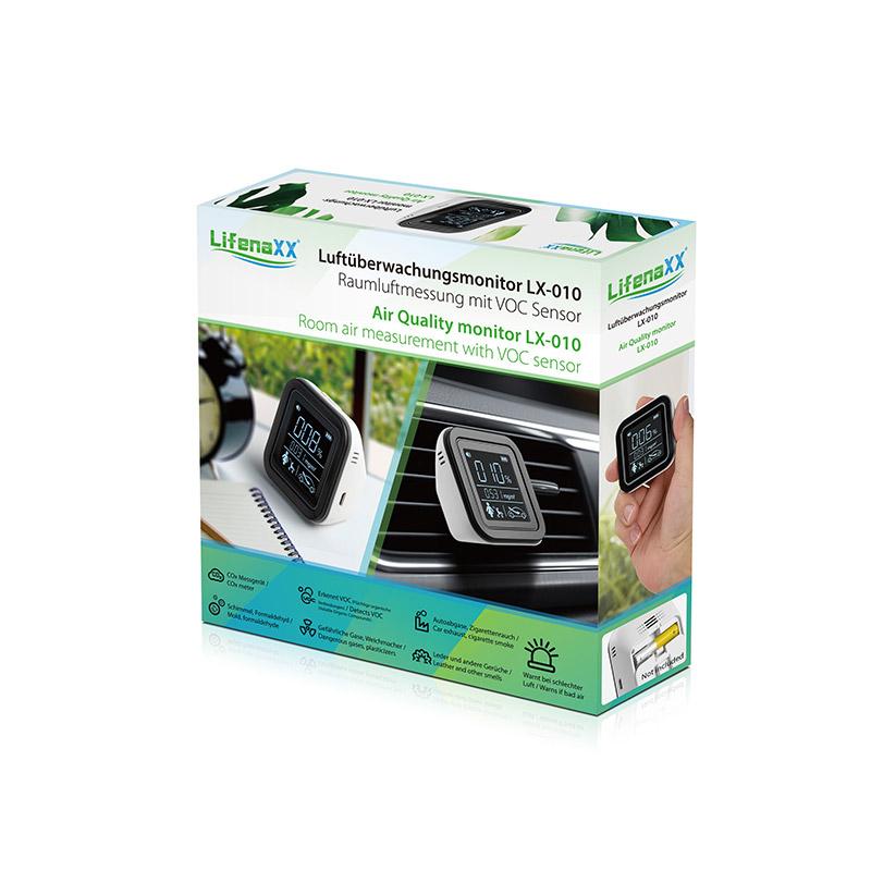 Ανιχνευτής Ποιότητας Αέρα με Αισθητήρα VOC Technaxx LX-010