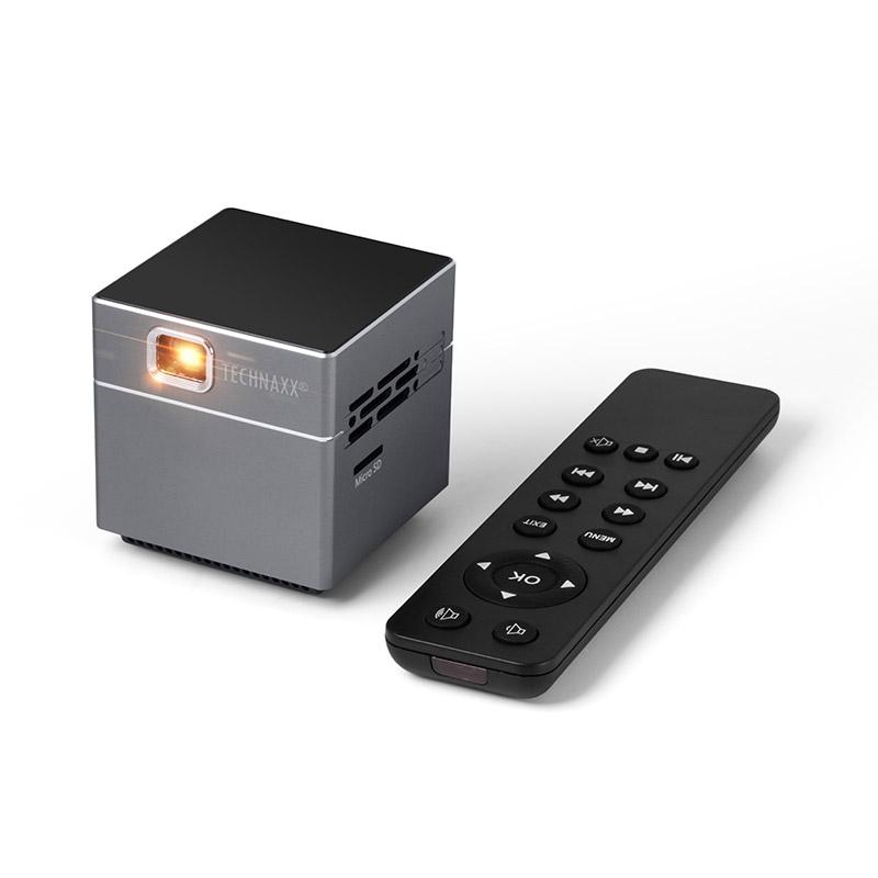 Mini LED Προτζέκτορας με Τηλεχειριστήριο και Τρίποδο Technaxx TX-126