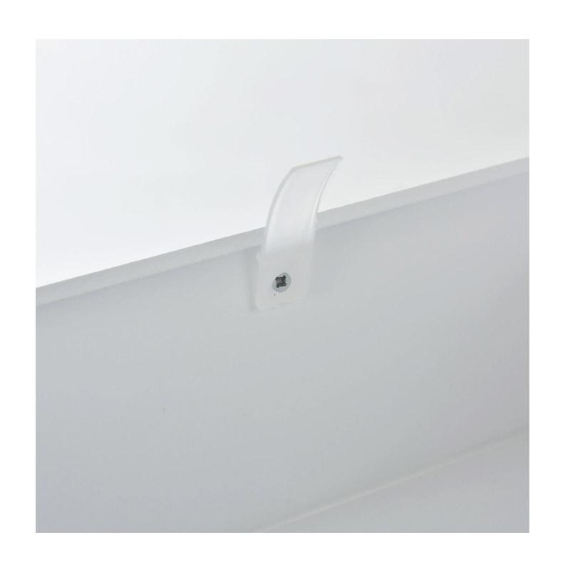 Ξύλινη Κονσόλα με 1 Συρτάρι και 2 Ράφια 80.5 x 75.6 x 27.5 cm HOMCOM 837-046