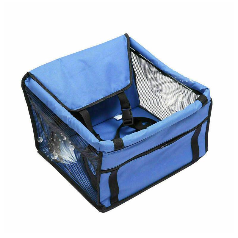 Καθισματάκι Αυτοκινήτου για Κατοικίδια έως 30 Kg Χρώματος Μπλε SPM DB4054