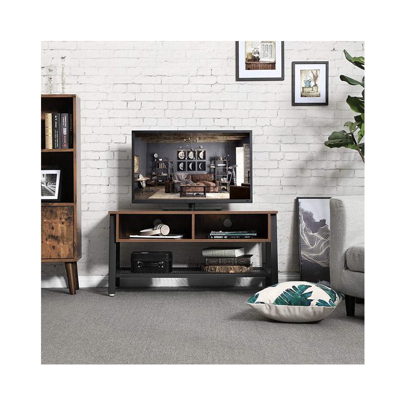 Μεταλλικό Έπιπλο Τηλεόρασης με 3 Ράφια 100 x 40 x 50 cm VASAGLE LTV92X