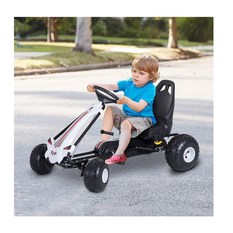 Παιδικό Αυτοκίνητο Go Kart με Πετάλια HOMCOM 341-021