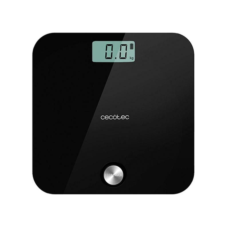 Ψηφιακή Ζυγαριά Μπάνιου Cecotec Surface Precision EcoPower 10000 Healthy Χρώματος Μαύρο CEC-04251