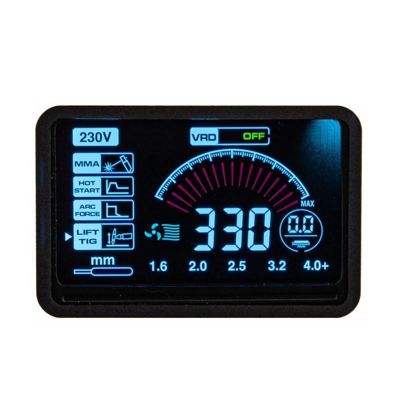 Ηλεκτροκόλληση Inverter 330A 230V IGBT MMA /LIFT-TIG POWERMAT PM-IMGT-330S