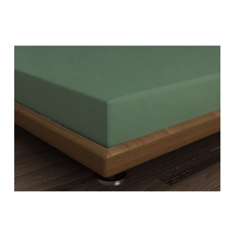 Διπλό Σεντόνι 240 x 260 cm Χρώματος Πράσινο Beverly Hills Polo Club 176BHP1226