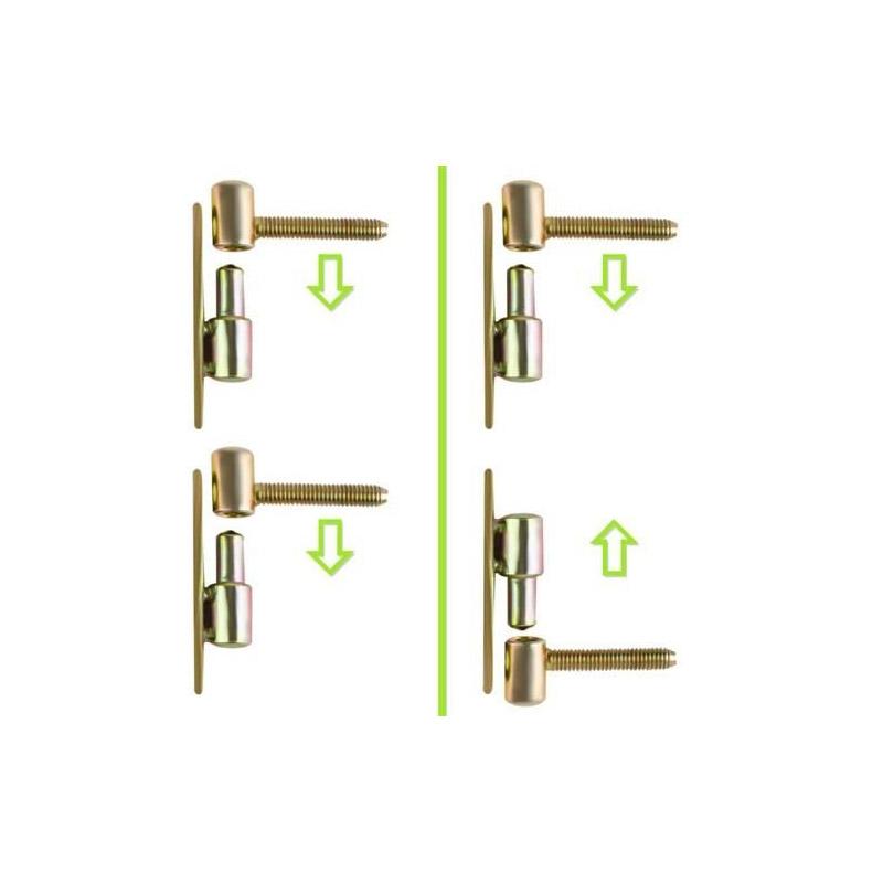 Επεκτεινόμενη Προστατευτική Πόρτα για Μωρά 68 x 72 -122 cm SPM 8257