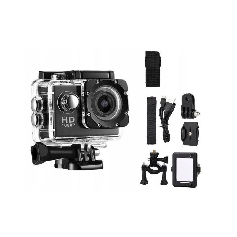 """Αδιάβροχη Action Camera με Οθόνη LCD 2"""" SPM Scamera-Black"""