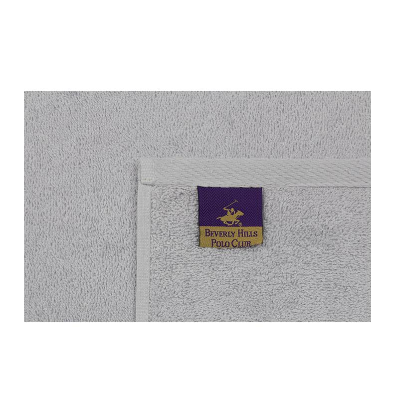 Σετ με 2 Πετσέτες Προσώπου 50 x 90 cm Χρώματος Ροζ - Γκρι Beverly Hills Polo Club 355BHP2294