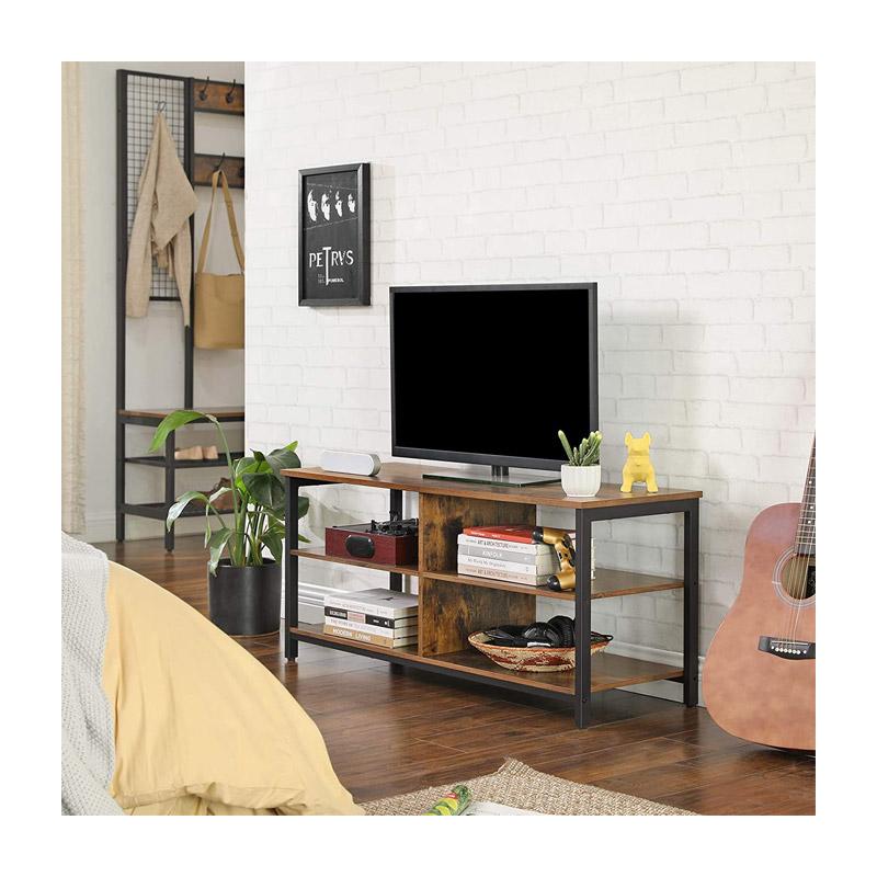 Μεταλλικό Έπιπλο Τηλεόρασης 110 x 40 x 50 cm VASAGLE LTV37BX