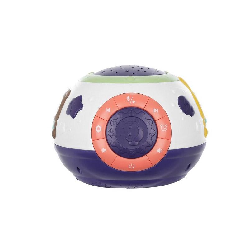 Παιδικό LED Φωτιστικό και Προβολέας Νυκτός με Μουσική SPM 11212