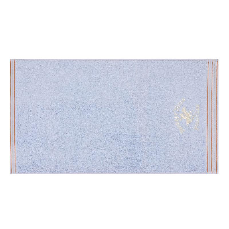 Σετ με 2 Πετσέτες Μπάνιου 70 x 140 cm Χρώματος Γαλάζιο Beverly Hills Polo Club 355BHP2606