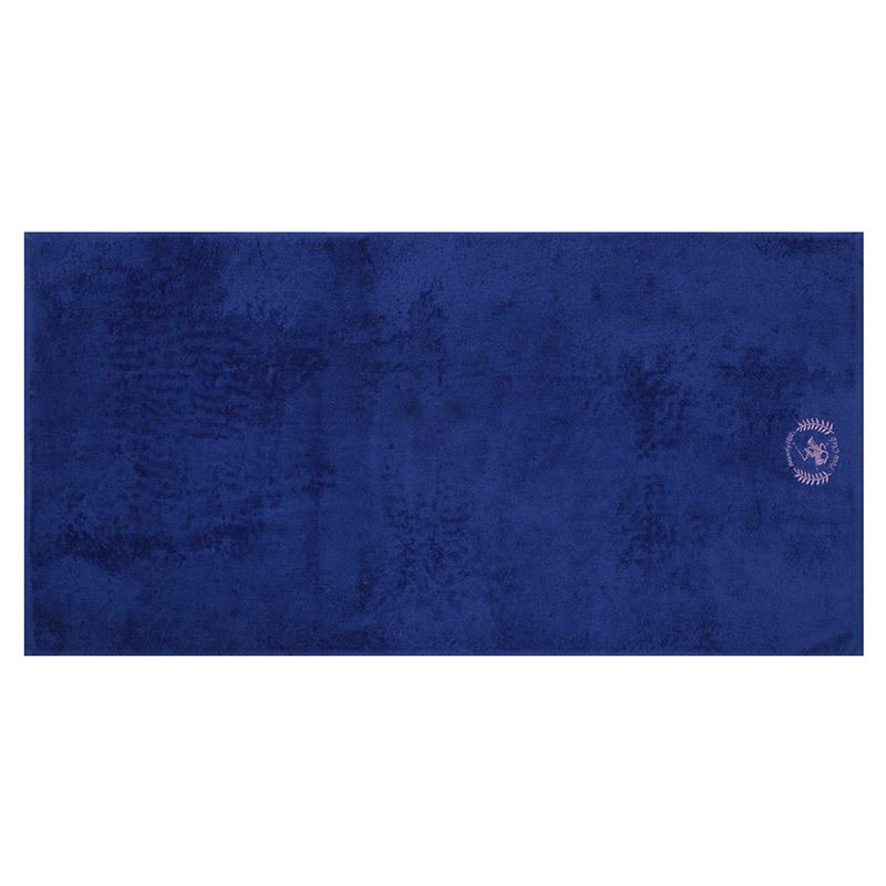 Σετ με 2 Πετσέτες Μπάνιου 70 x 140 cm Χρώματος Μωβ - Μπλε Beverly Hills Polo Club 355BHP2456