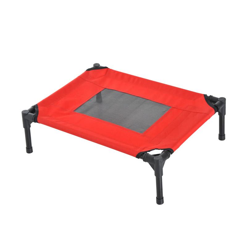 Υπερυψωμένο Μεταλλικό Κρεβάτι για Κατοικίδια Small 64 x 46 x 18 cm Pawhut D04-067