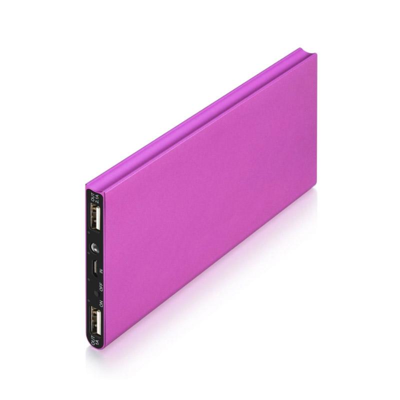 Power Bank 20000 mAh με 2 Θύρες USB Χρώματος Ροζ SPM UK175