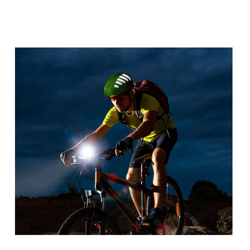 Αδιάβροχο Κάλυμμα Κράνους Ποδηλάτου με Ανακλαστικές Λωρίδες Χρώματος Κίτρινο SPM DYN-5059059072518