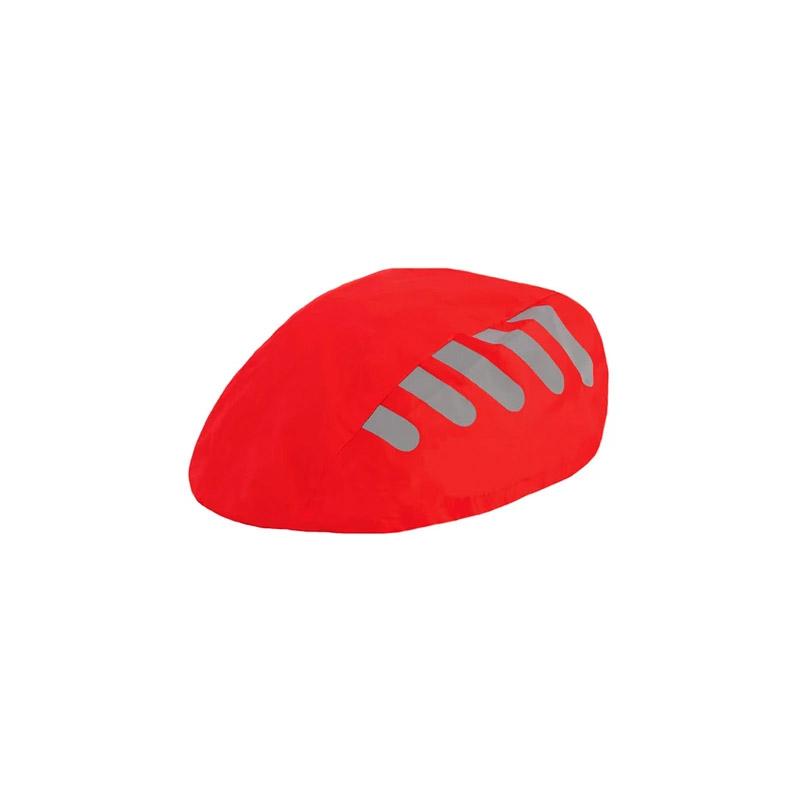 Αδιάβροχο Κάλυμμα Κράνους Ποδηλάτου με Ανακλαστικές Λωρίδες Χρώματος Κόκκινο SPM DYN-5059059072525