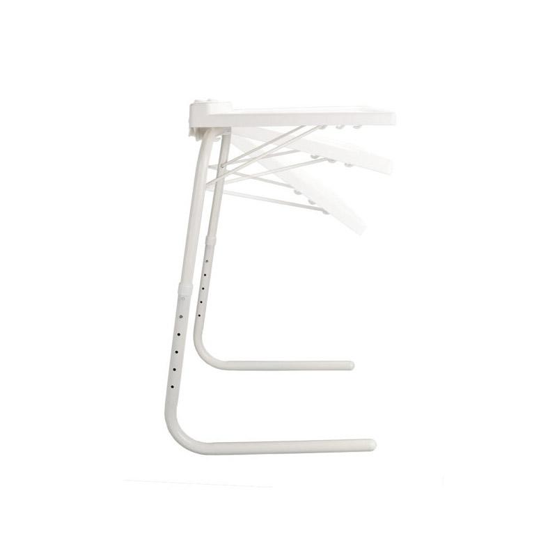 Πτυσσόμενο Βοηθητικό Τραπεζάκι με Ρυθμιζόμενο Ύψος και Θήκη για Tablet 51.5 x 39.5 x 2.5 cm GEM BN1095