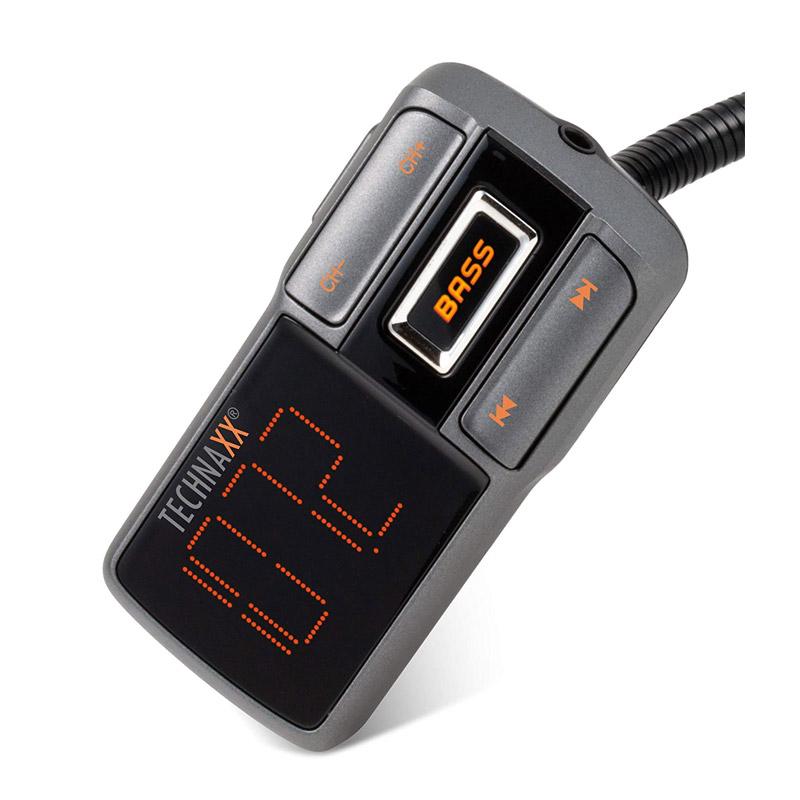 Συσκευή Bluetooth USB/SD FM Transmitter και Φορτιστής Αυτοκινήτου Technaxx FMT1350BT