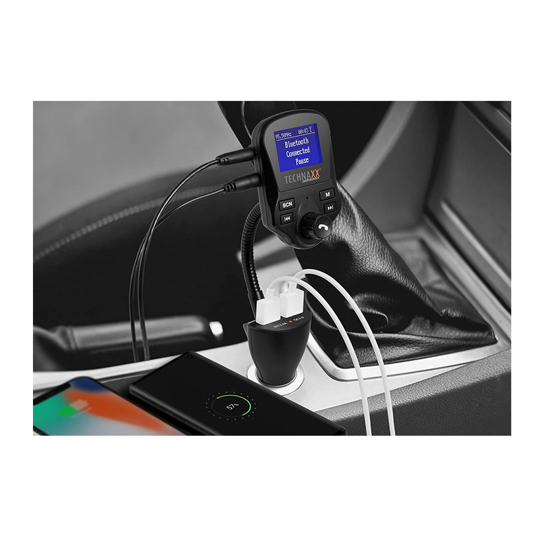 Συσκευή Bluetooth USB/SD MP3 FM DAB+ Transmitter και Φορτιστής Αυτοκινήτου Technaxx FMT1500BT