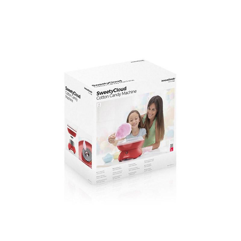 Συσκευή για Μαλλί της Γριάς με 10 Bamboo Sticks 400 W SweetyCloud InnovaGoods V0103155