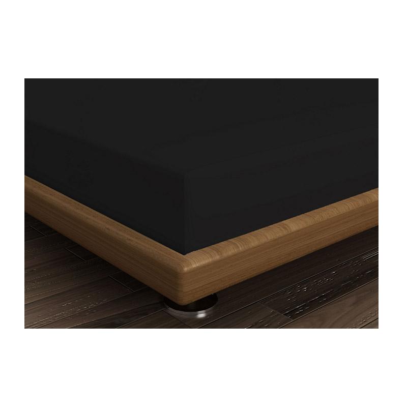 Διπλό Σεντόνι 240 x 260 cm Χρώματος Μαύρο Beverly Hills Polo Club 187BHP1202