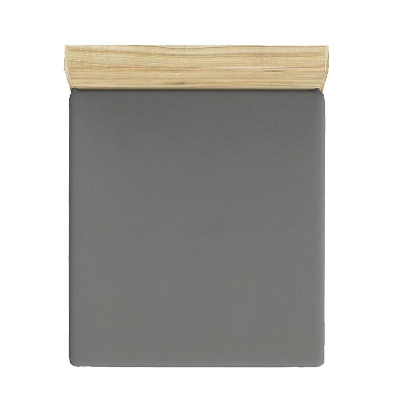 Διπλό Σεντόνι 240 x 260 cm Χρώματος Σκούρο Γκρι Beverly Hills Polo Club 187BHP1206
