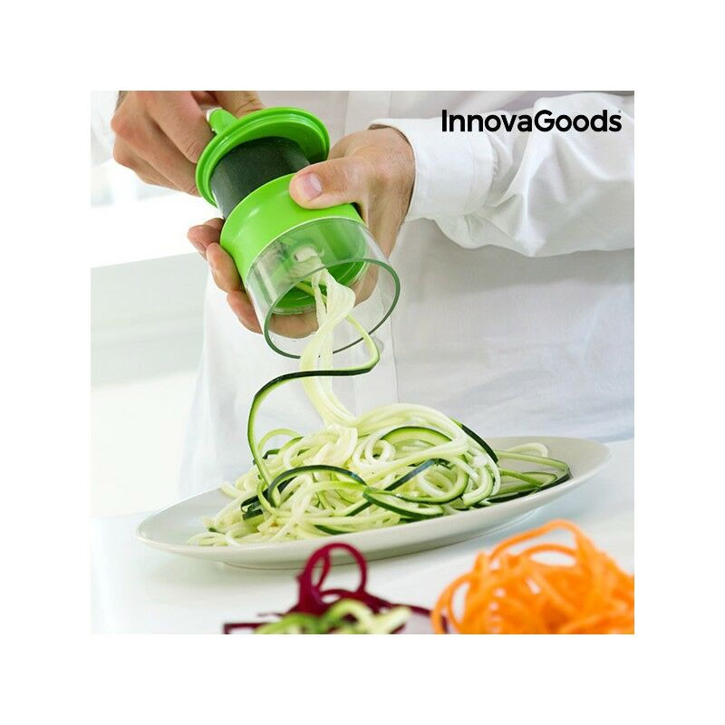 Κόφτης Λαχανικών σε Σπιράλ Mini Spiralicer InnovaGoods V0100893